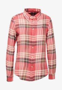 Polo Ralph Lauren - Button-down blouse - red/navy - 3