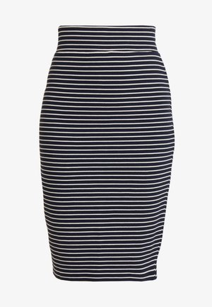 THE PROMISE - Pencil skirt - navy