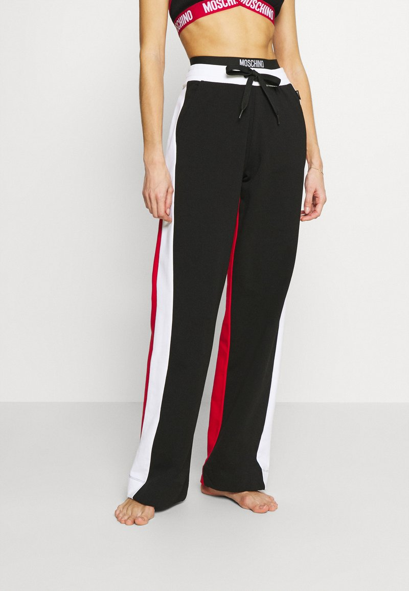 Moschino Underwear - PANTS - Tracksuit bottoms - black