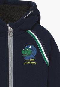 Lemon Beret - SMALL BOYS - Zip-up hoodie - navy blazer - 3
