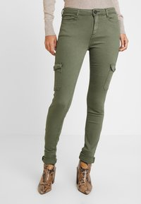 edc by Esprit - Jeans Skinny Fit - khaki green - 0