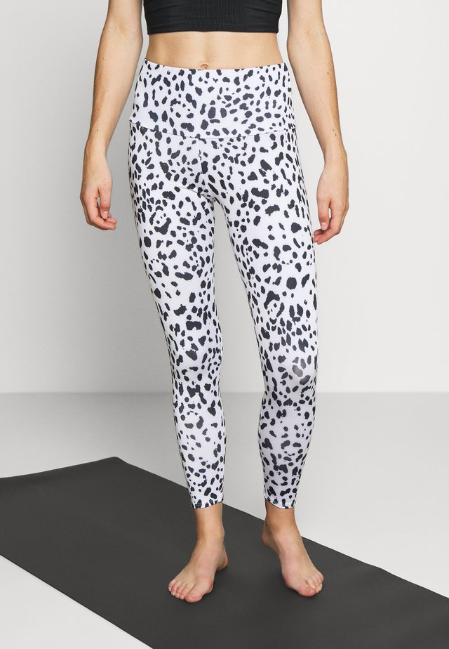 HIGH BASIC MIDI - Leggings - white