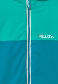 TrollKids - GIRLS HALLINGDAL - Snowboardjakke - light petrol/dark mint/white - 5