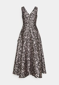 Adrianna Papell - MIKADO GOWN - Occasion wear - black/taupe - 1