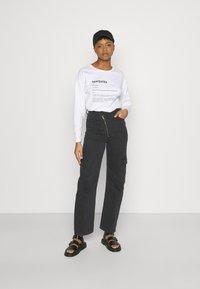 Never Fully Dressed - MARGARITA BOXY TEE - Long sleeved top - white - 1