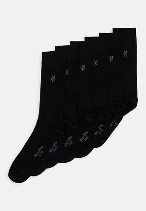 6 PACK - Chaussettes - black