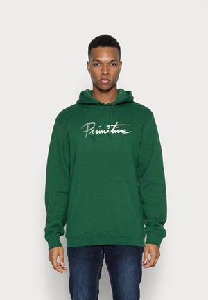 NUEVO TRAILS HOOD - Sweater - hunter green