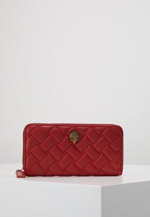 ZIP AROUND WALLET EAGLE - Wallet - red dark