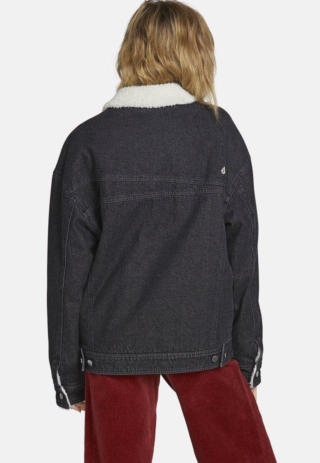 WOODSTONE JACKET - Veste en jean - black