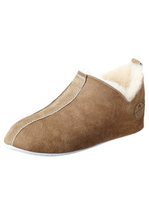 LINA - Slippers - antique cognac