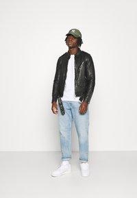 AllSaints - MONZA JACKET - Leather jacket - black - 1