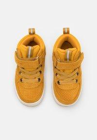 Viking - SAMUEL MID WP UNISEX - Hiking shoes - mustard - 3