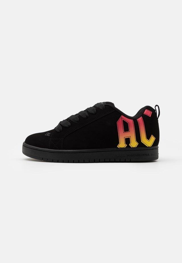 COURT GRAFFIK AC/DC - Sneakers - black