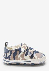 Next - Touch-strap shoes - blue/beige - 3