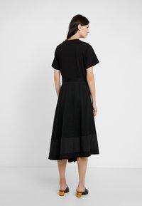 3.1 Phillip Lim - FLARE SKIRT DRESS - Vestito estivo - black - 2