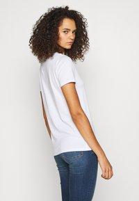 New Look Tall - ORGANIC TEE 2 PACK - Jednoduché triko - black/white - 2