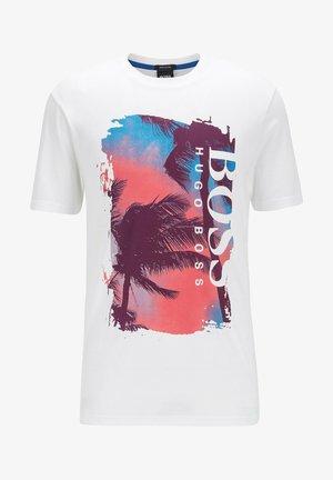 TSUMMERY - Print T-shirt - natural