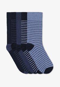 WE Fashion - 5 PACK - Socks - navy blue - 0