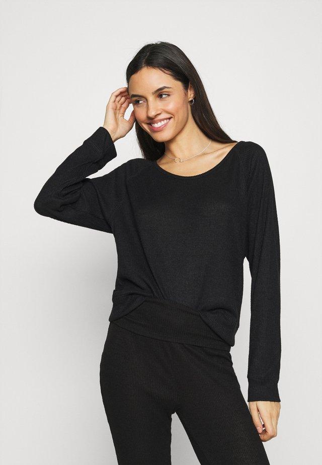 SNIT - Pyjamashirt - true black