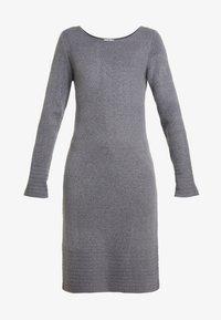 TOM TAILOR - DRESS - Pletené šaty - anthracite melange - 3