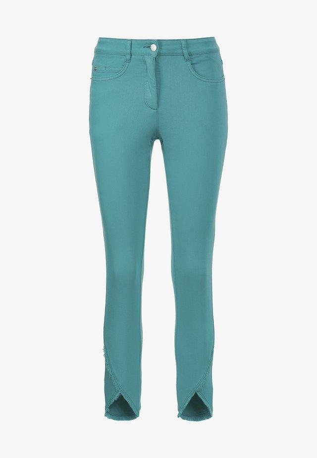 Slim fit jeans - aquamarin