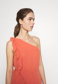 Bruuns Bazaar - ROSALINA KENDRA DRESS - Sukienka koktajlowa - poppy red - 4