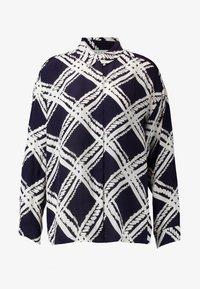 Masai - IBILY BLOUSE - Button-down blouse - navy - 4