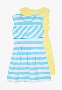 Lemon Beret - SMALL GIRLS DRESS 2 PACK - Jersey dress - bachelor button - 3