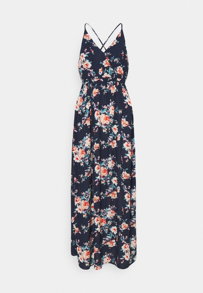 VILA PETITE - VIMESA WRAP DRESS - Maxi dress - navy blazer