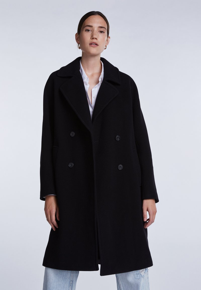 SET - Classic coat - black