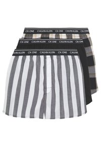 Calvin Klein Underwear - 3 PACK - Boxer shorts - black - 0