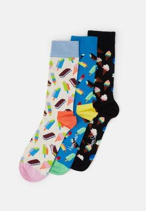ICE CREAM SOCKS GIFT SET 3 PACK UNISEX - Socks - multi