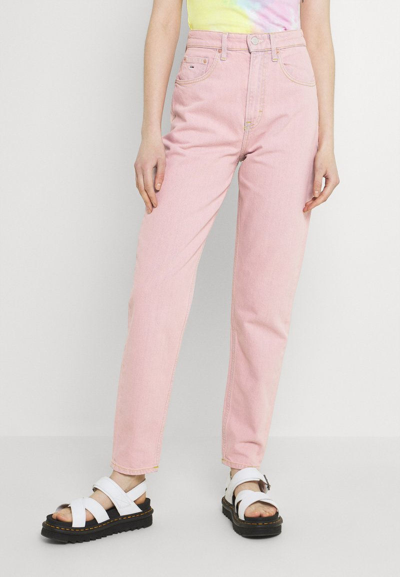 Tommy Jeans - MOM ULTRA - Relaxed fit jeans - pink daisy