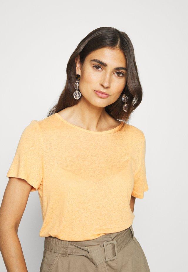 KURZARM - Basic T-shirt - sun