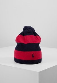 Polo Ralph Lauren - STRIPE HAT APPAREL - Čepice - navy/sport pink - 0