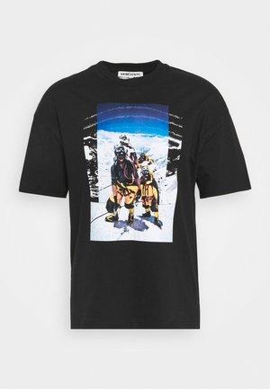 ALTANI UNISEX - Print T-shirt - black