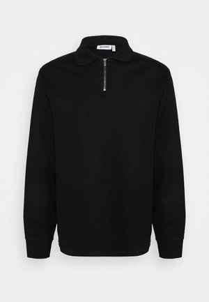 KIAN ZIP - Neule - black