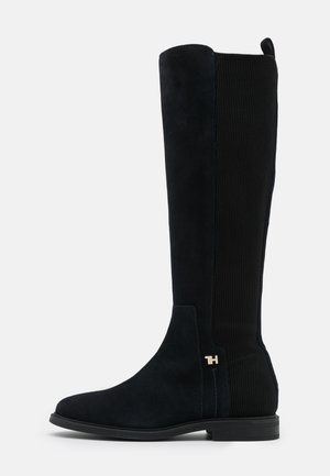 ESSENTIAL FLAT LONG BOOT - Stiefel - desert sky