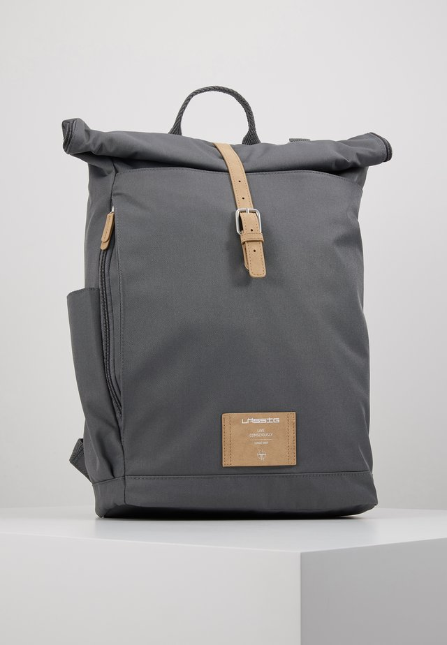 ROLLTOP BACKPACK - Sac à dos - anthracite