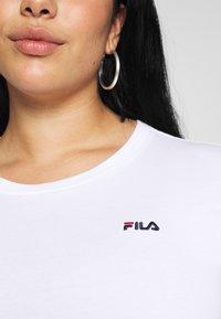 Fila Plus - EAVEN CROPPED LONG SLEEVE - Longsleeve - bright white - 5