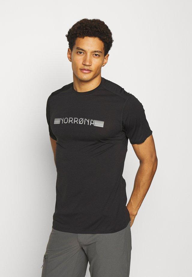 BITIHORN TECH  - T-shirt con stampa - caviar