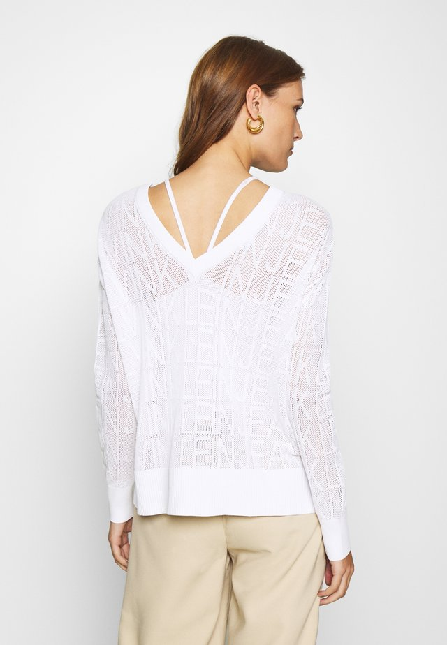 RELAXED - Sweter - bright white