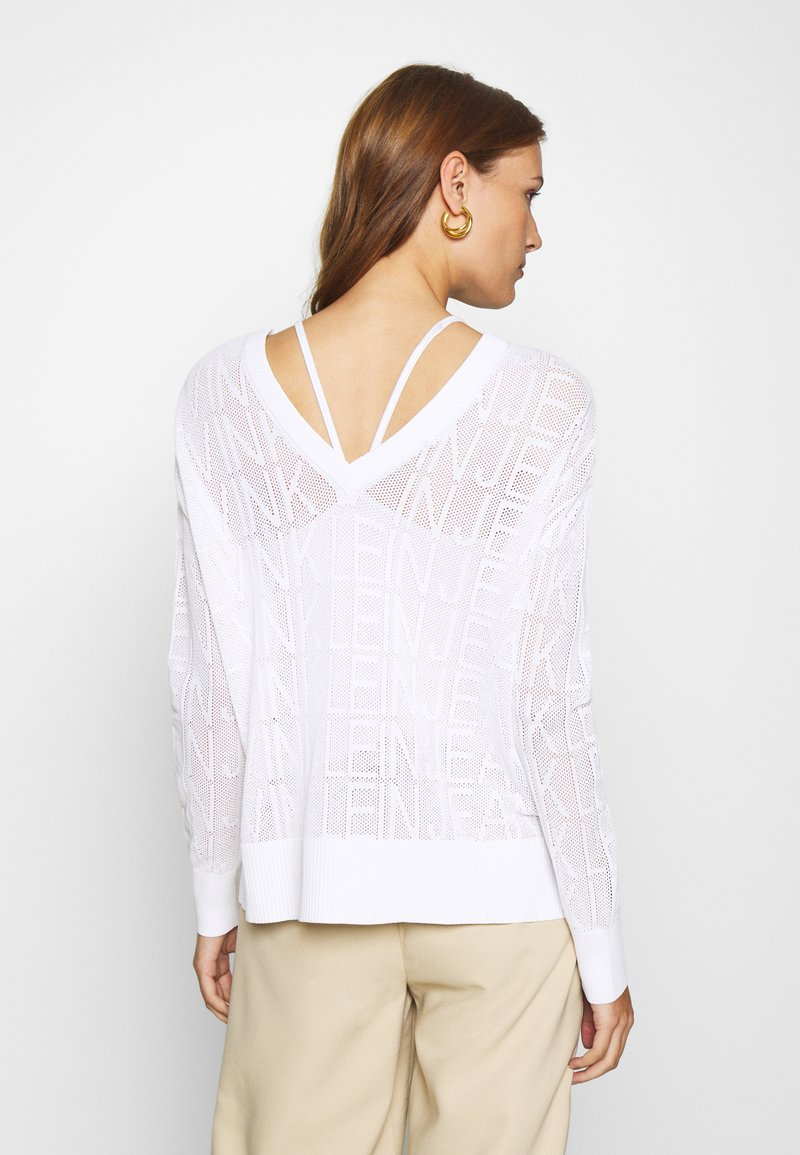 Calvin Klein Jeans - RELAXED - Jumper - bright white