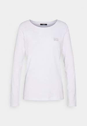 BASICA - Long sleeved top - bianco