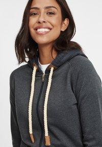 Oxmo - MATILDA - Zip-up hoodie - dar grey m - 3