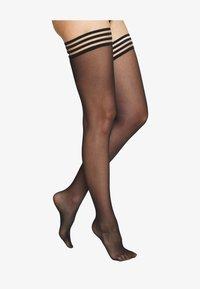 Swedish Stockings - MIRA PREMIUM STAY UP - Over-the-knee socks - black - 1