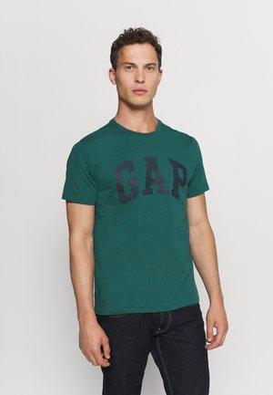 BASIC LOGO - Print T-shirt - velvet teal