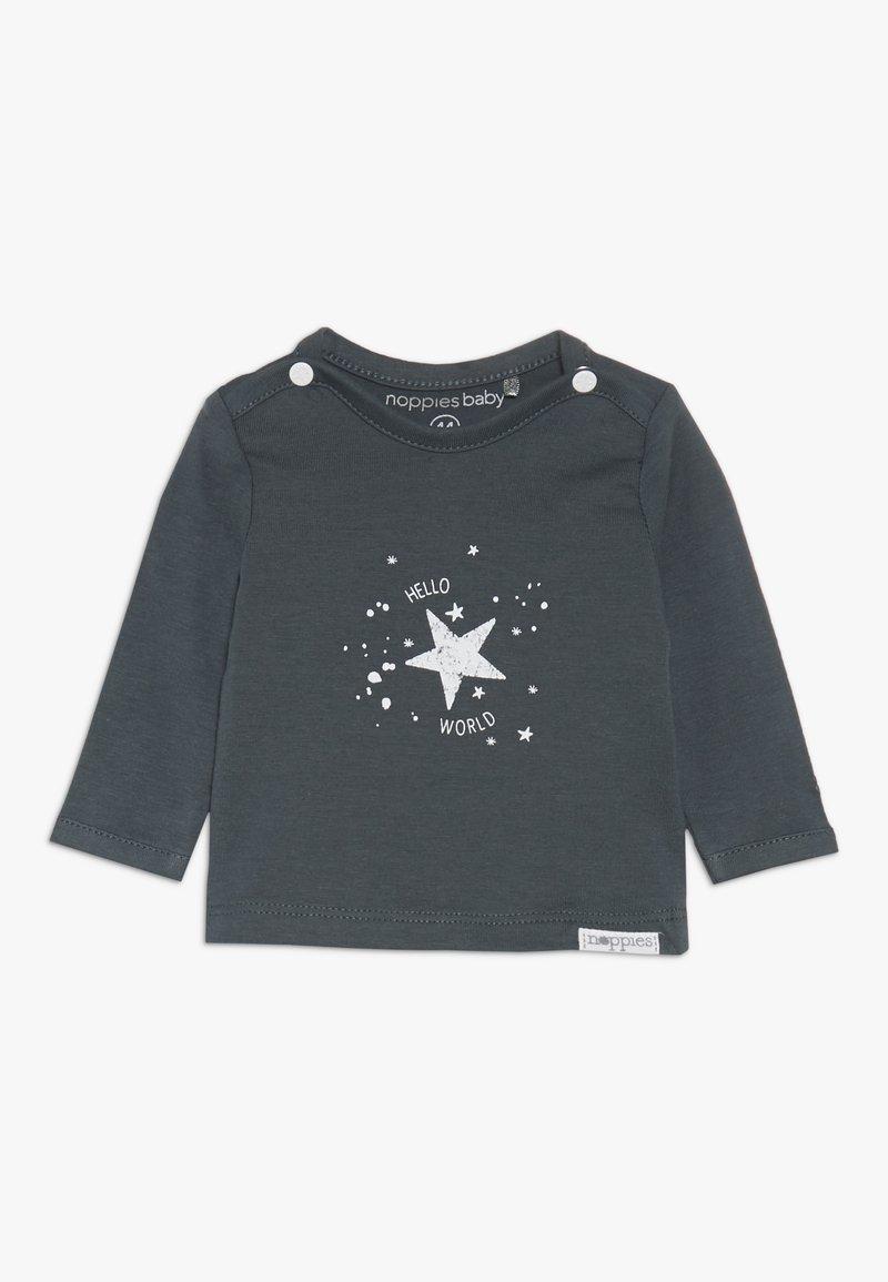 Noppies - TEE LUX TEKST - T-shirt à manches longues - dark grey