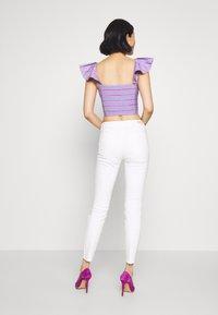 TOM TAILOR DENIM - NELA - Jeans Skinny Fit - white denim - 2