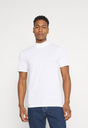 ONSKIT LIFE MOCK NECK TEE - T-shirt - bas - bright white